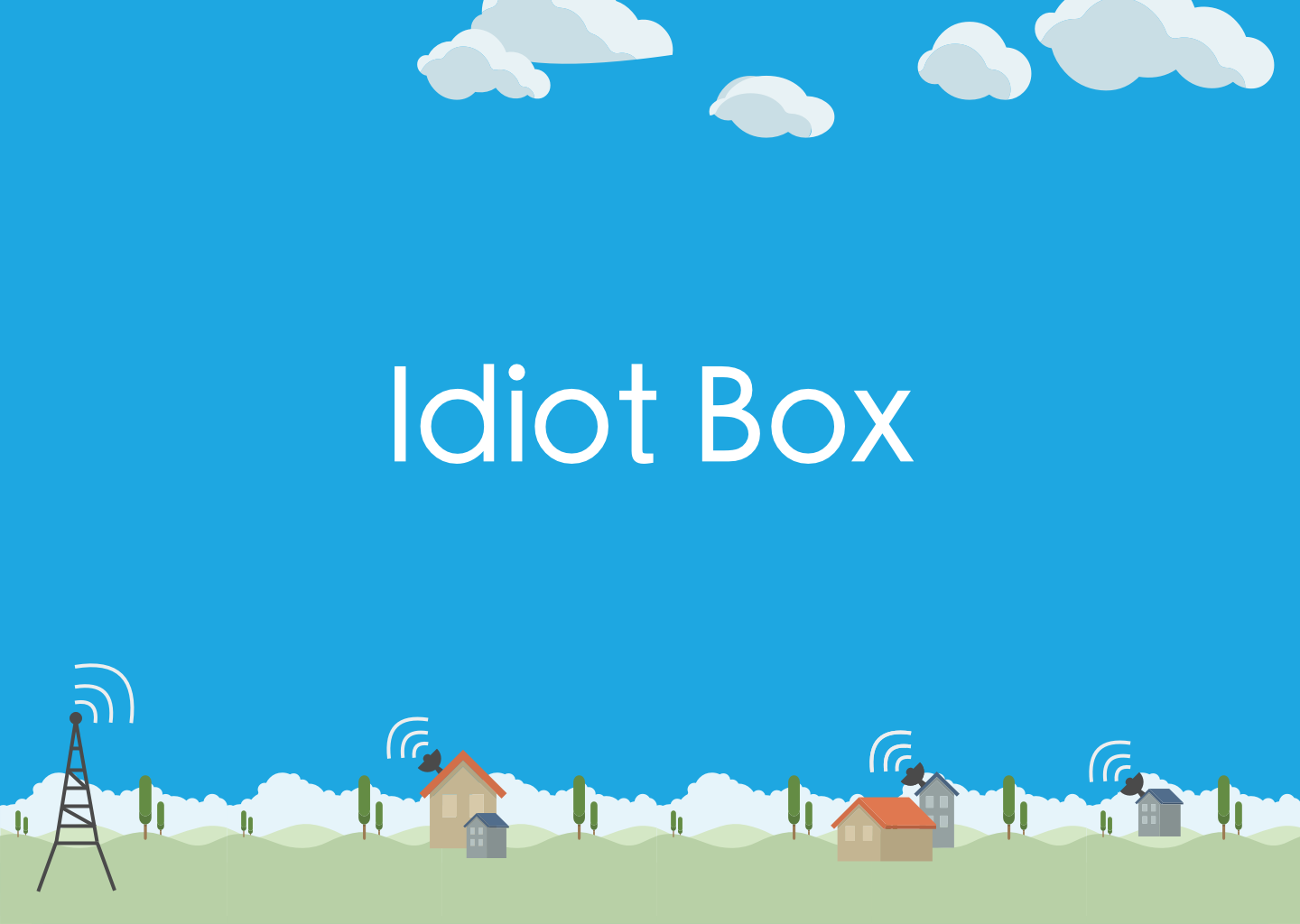 Image result for idiot box images