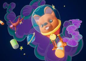 Laika's Super Sober adventure in Space