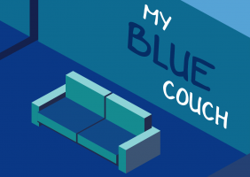 My Blue Couch