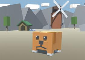Blocky Doggy Journey