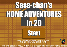 Sass-chan's Home Adventures in 2D