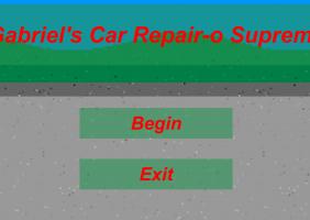 Gabriel's Car Repair-o Supreme