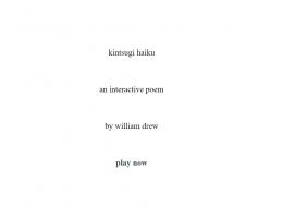kintsugi haiku