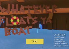 Whatever floats ya boat