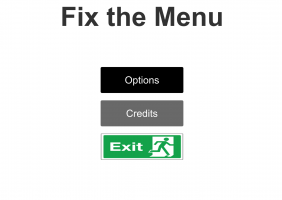 Fix The Menu