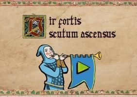 Vir Fortis Scutum Ascensus