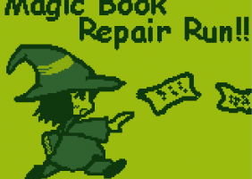 Magic book repaire run!!