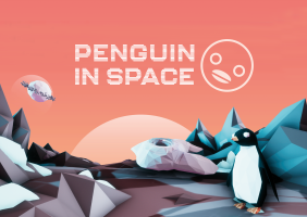 Penguin in Space!
