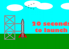 20 seconds to launch