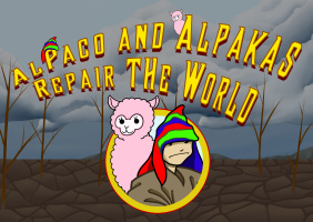 AlPaco and Alpakas Repair the World