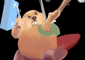 Dam it beaver