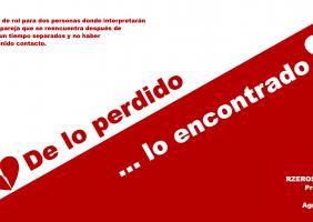 De lo perdido... lo encontrado. (From lost... the found) RPG