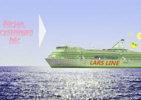 Lars Line -Seikkailu Ruotsinlaivalla