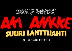Legally Distinct Aki Ankke ja Suuri Lanttijahti