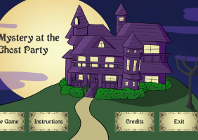 Mystery at the Ghost Party
