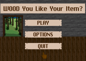 WOOD You Like Your Item?