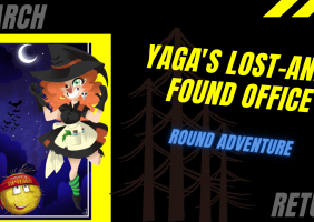 Yaga's lost-and-found office: round adventure