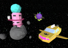 Penguin Taxi 9 : Lost in Space