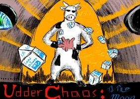 UDDER CHAOS: To The Moon
