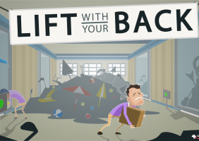 Lift With Your Back