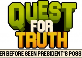 QUEST FOR TRUTH In never before seen president's possession