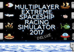 Multiplayer Extreme Spaceship Racing Simulator 2017 Deluxe