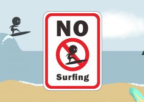 No Surfing